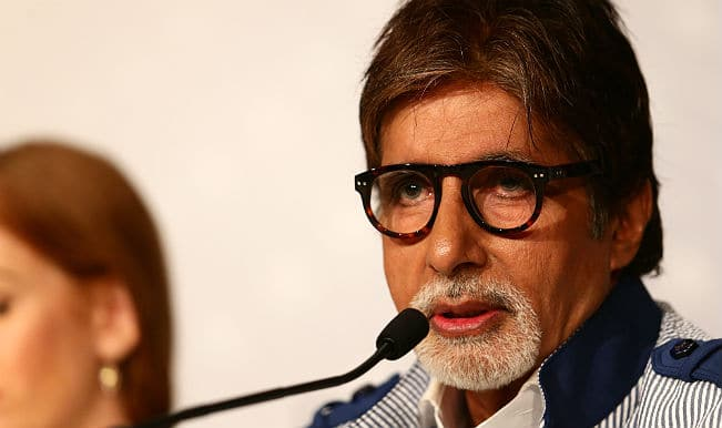 Amitabh Bachchan: Writing about Nepal quake not for publicity