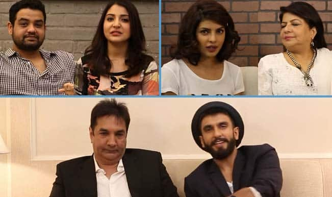Ranveer Singh with dad, Anushka Sharma with brother, Priyanka Chopra with mom: Dil Dhadakne Do stars get their family for this special video!