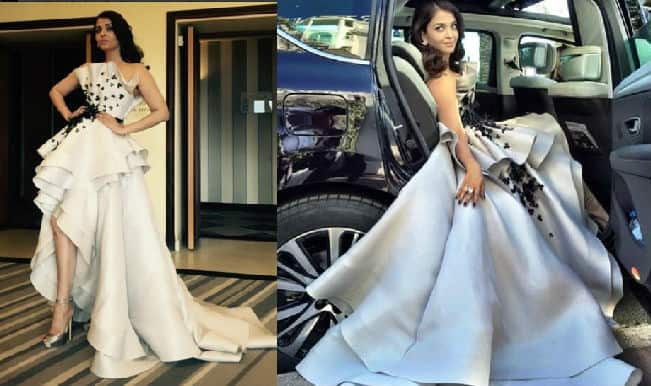 Cannes 2015: Aishwarya Rai Bachchan looks stunning in a Ralph and Russo gown!