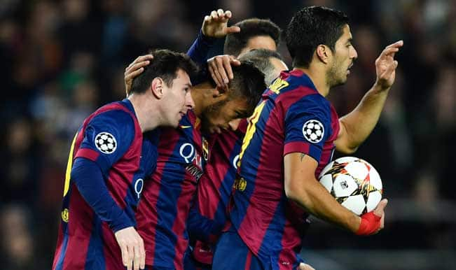 Barcelona take up buyback option on midfielder Denis Suarez