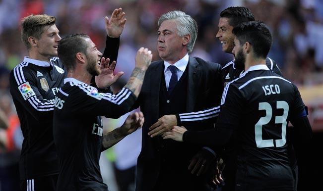 Vicente Del Bosque hails Carlo Ancelotti's impact in Spanish football