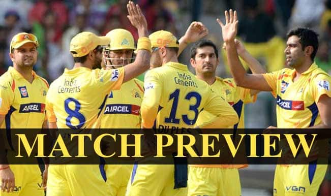 Chennai Super Kings vs Rajasthan Royals, IPL 2015 Match 47 Preview: CSK and RR aim to seal the deal for a spot in the Playoffs
