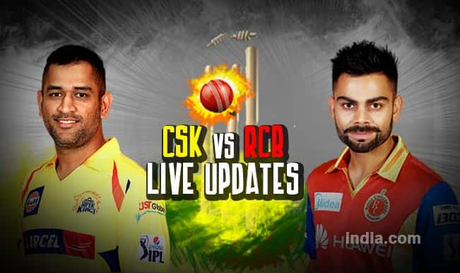CSK won by 3 wickets, Ashish Nehra is Man of the Match | Chennai Super Kings vs Royal Challengers Bangalore, Live IPL 2015 Cricket Score Updates