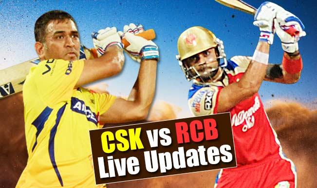 CSK won by 24 runs | Live Cricket Score Updates Chennai Super Kings vs Royal Challengers Bangalore, IPL 2015: Suresh Raina adjudged Man of the Match
