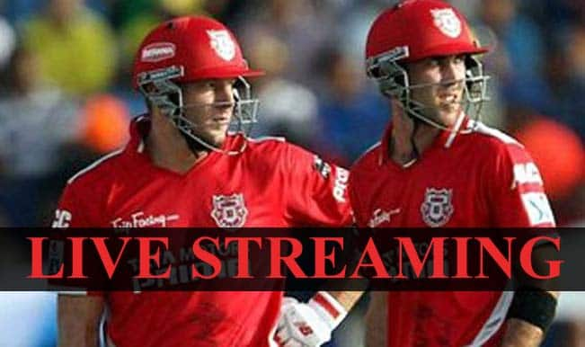 Kings XI Punjab vs Royal Challengers Bangalore, IPL 2015: Watch Free Live Streaming and Telecast of KXIP vs RCB on Star Sports Online