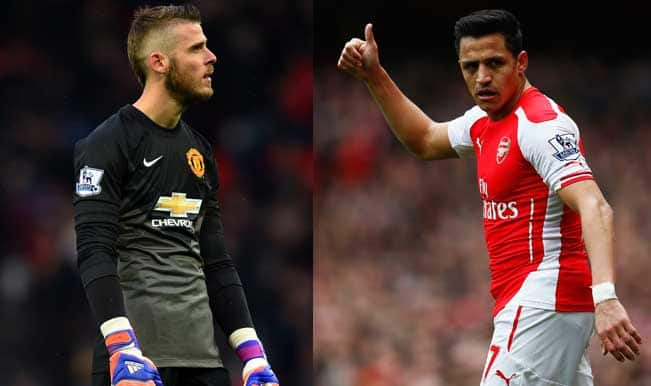 Manchester United vs Arsenal Live Streaming and Score: Watch Live Telecast Online of MUN vs ARS Barclays Premier League 2014-15 Match