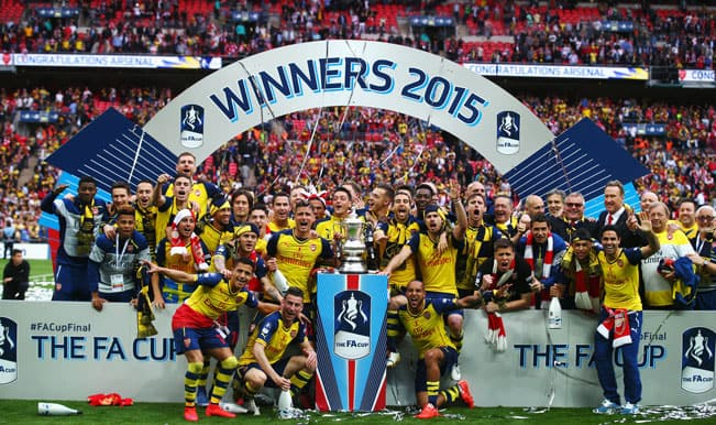 FA Cup 2014-15: Arsenal crush Aston Villa 4-0 to lift trophy for an unprecedented 12th time