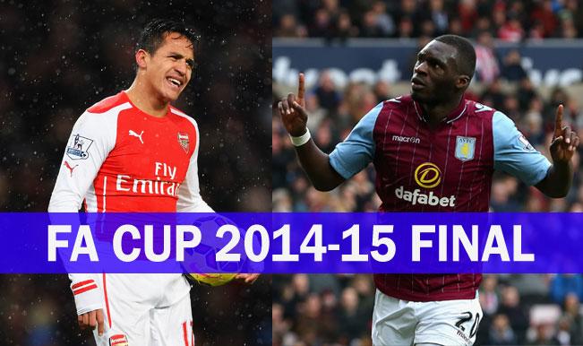 Arsenal 4-0 Aston Villa | Live Score Updates, FA Cup Final 2014-15: Full-Time - Arsenal retain FA Cup!