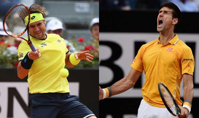 Novak Djokovic vs David Ferrer Rome Masters 2015 semi-final: Watch Live Streaming & Telecast of Italian Open Tennis Tournament