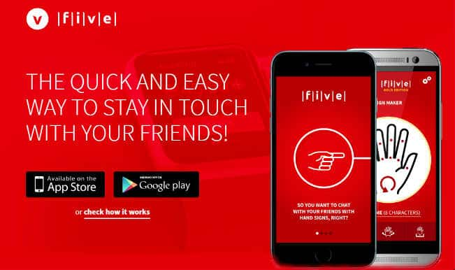 FIVE App: Android & Apple watch messaging app for rappers that can be used by the deaf!