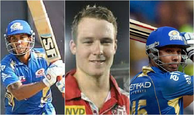 Kings XI Punjab vs Mumbai Indians, IPL 2015, 35th Match: Rohit Sharma, David Miller among 5 key players for KXIP vs MI clash