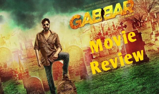 Gabbar is Back Movie Review: भ्रष्टाचार के खिलाफ अक्षय कुमार की एक और घिसी-पिटी जंग