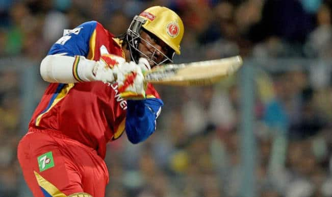 Chris Gayle OUT! RCB vs RR IPL 2015 Eliminator: Watch Video highlights of Fall of Wicket