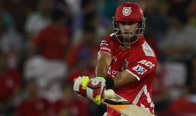 IPL 2015: Glenn Maxwell has disappointed himself, says George Bailey