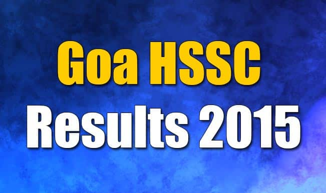 Goaresults.nic.in & gbshse.gov.in official HSSC Class 12 Results 2015 website: Goa Board Class 12 Results to be declared today at 4.30 pm IST