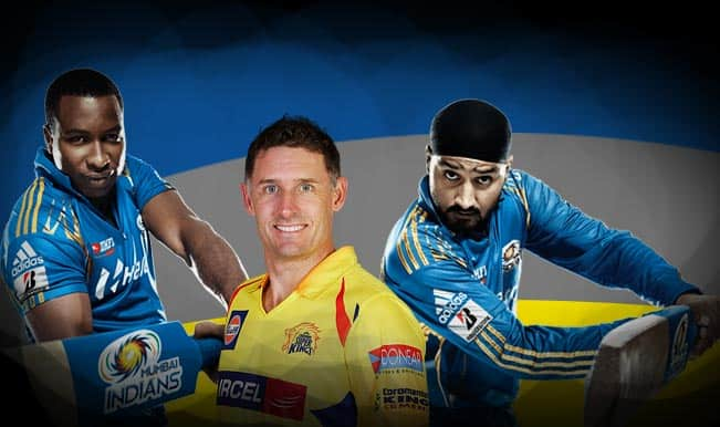Mumbai Indians vs Chennai Super Kings, IPL 2015 Final Match: Kieron Pollard, Michael Hussey among five key players in MI vs CSK clash