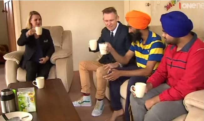 Huge Surprise for Harman Singh, hero Sikh man who removed turban to save injured boy! Watch Video