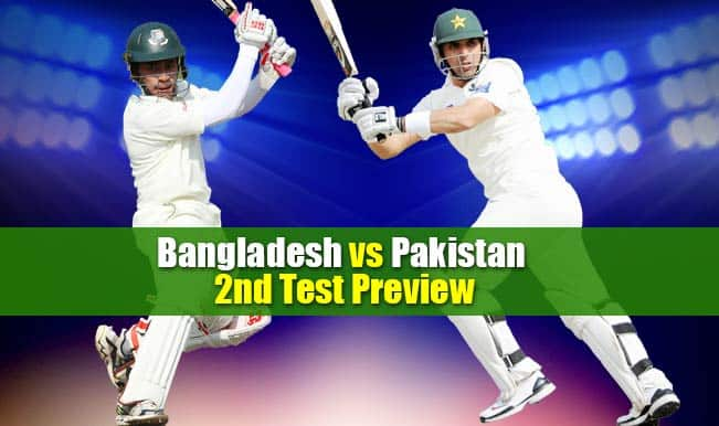 Bangladesh vs Pakistan 2nd Test Match Preview: BAN look to end on a high against PAK