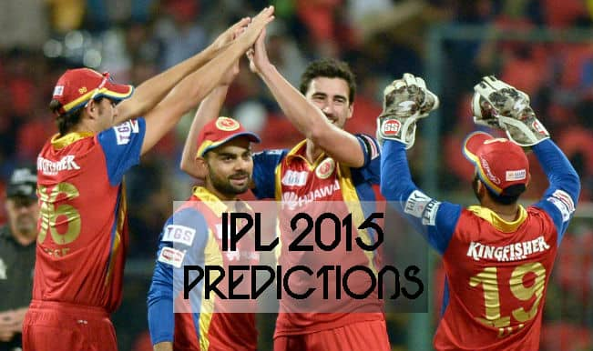 IPL 2015 Day 36: Today's Prediction, Current Points Table and Schedule for upcoming matches of IPL 8