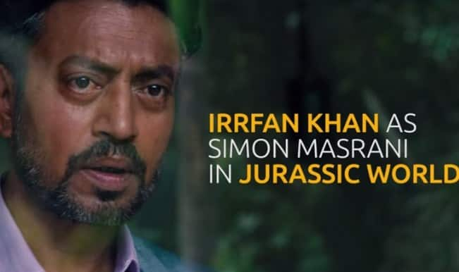 Jurassic World teaser: Irrfan Khan's first look as Simon Masrani out