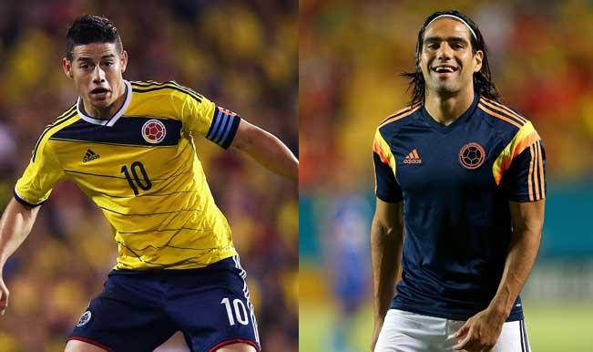 Copa America 2015: Radamel Falcao, James Rodriguez head Colombia's 30-man preliminary squad