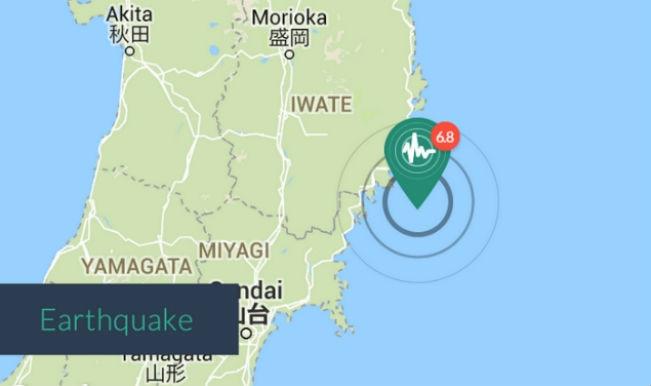 Japan Earthquake Latest News: Magnitude of 6.8 quake strikes northeast Japan