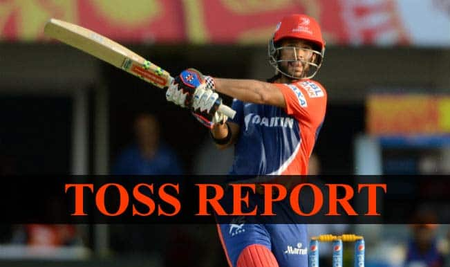 Mumbai Indians vs Delhi Daredevils, IPL 2015 Toss Report and Playing XI: DD win toss, opt to bat first