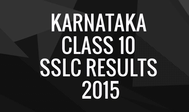 Kseeb.kar.nic.in & karresults.nic.in official Karnataka Class 10 SSLC Results 2015 website: Secondary Education Examination Board results to be announced tomorrow