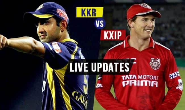 KKR won by 1 wicket | Live Cricket Score Updates Kolkata Knight Riders vs Kings XI Punjab, IPL 2015