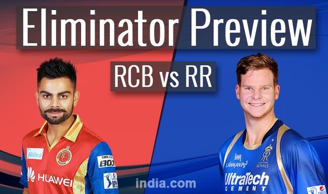 Royal Challengers Bangalore vs Rajasthan Royals, IPL 2015 Eliminator Preview: RCB favorites against RR
