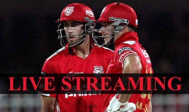 Kings XI Punjab vs Chennai Super Kings, IPL 2015: Watch Free Live Streaming and Telecast of KXIP vs CSK on Star Sports Online