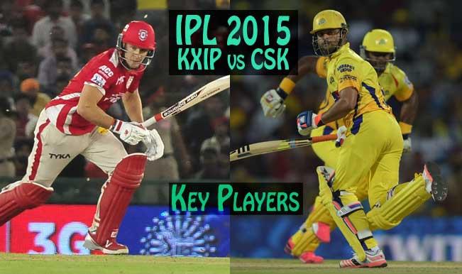 Kings XI Punjab vs Chennai Super Kings, IPL 2015 53rd Match: Suresh Raina, David Miller in five key players for KXIP vs CSK clash
