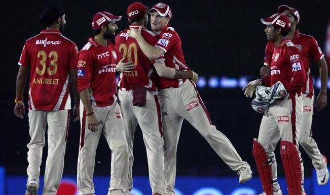 IPL 2015: Kings XI Punjab (KXIP) win rain-hit match by 22 runs against Royal Challengers Bangalore (RCB)