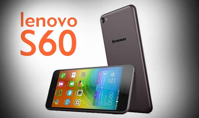 Lenovo S60 launched in India at Rs 12,999