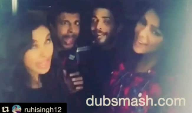 Javed Jaffrey, Lisa Ray & Krishna Chaturvedi's comical Dubsmash from the sets of Ishq Forever – Watch Video