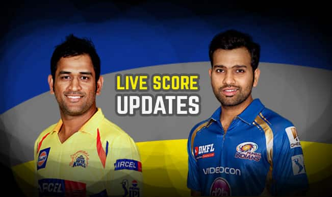 MI become IPL 2015 Champions, Rohit Sharma is Man of the Match | Mumbai Indians vs Chennai Super Kings, Live IPL Final 2015 Cricket Score Updates