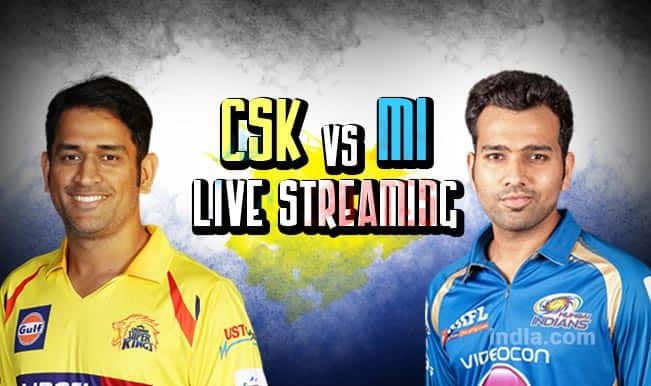 Chennai Super Kings vs Mumbai Indians, IPL 2015: Watch Free Live Streaming & Telecast of CSK vs MI Qualifier 1 on Star Sports Online