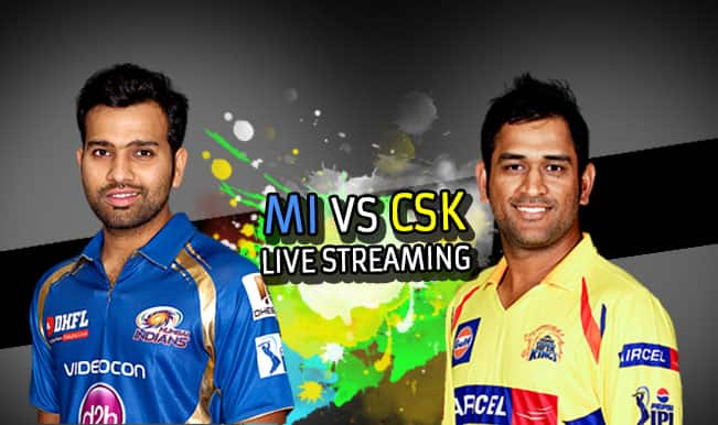 Mumbai Indians vs Chennai Super Kings, IPL 2015: Watch Free Live Streaming and Telecast of MI vs CSK on Star Sports Online