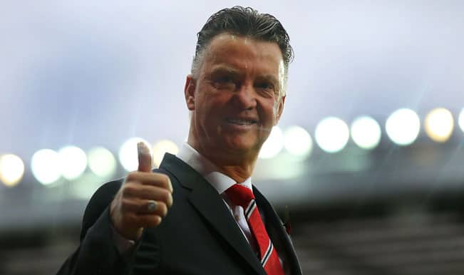 Manchester United manager Louis Van Gaal shakes up Old Trafford faithful with epic speech!