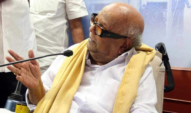 DMK not to contest from RK Nagar, says M Karunanidhi
