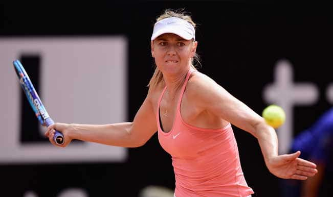 Maria Sharapova vs Victoria Azarenka Rome Masters 2015 Quarterfinal: Watch Live Streaming & Telecast of Italian Open Tennis Tournament