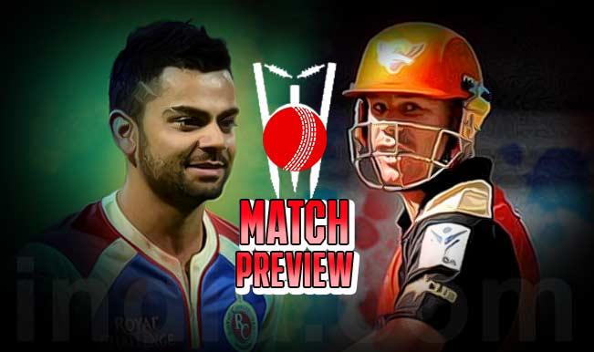 आईपीएल-8: सनराइजर्स, रॉयल चैलेंजर्स का मुकाबला आज