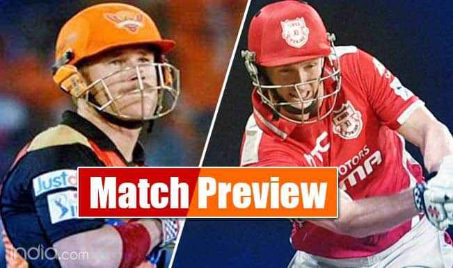 Sunrisers Hyderabad vs Kings XI Punjab IPL 2015 Match 48 Preview: Buoyant SRH face KXIP, eye place in playoffs