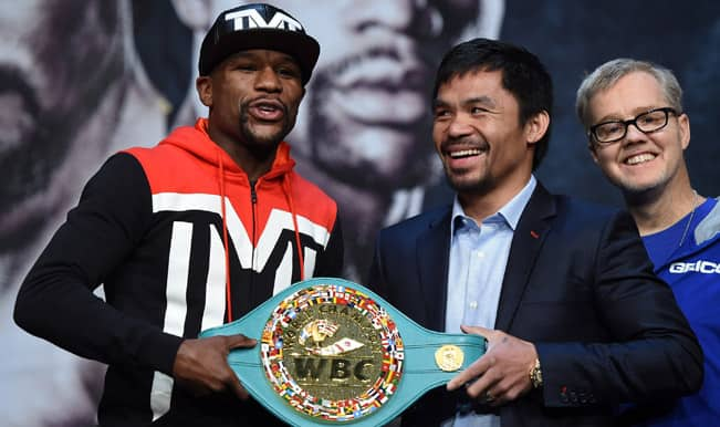 Floyd Mayweather vs Manny Pacquiao Boxing fight Live Streaming: Watch Live Telecast of Mayweather vs Pacquiao 2015 Welterweight title clash