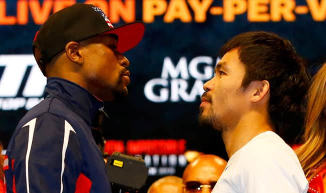 Floyd Mayweather vs Manny Pacquiao, Welterweight title Preview: Las Vegas set for 'Fight of the Century'