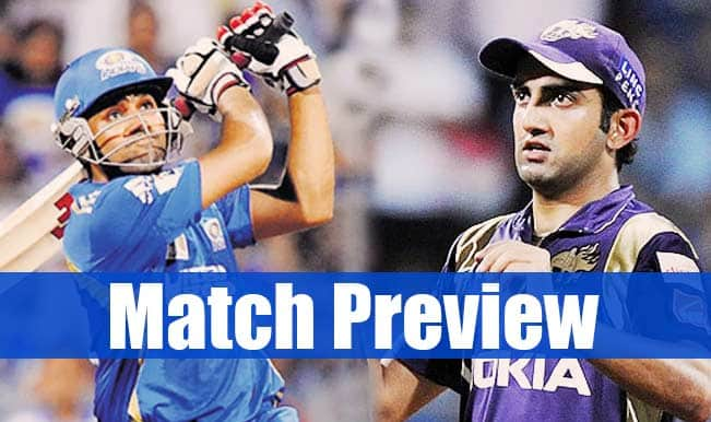 Mumbai Indians vs Kolkata Knight Riders IPL 2015 Match 51 Preview: MI face KKR in do-or-die game