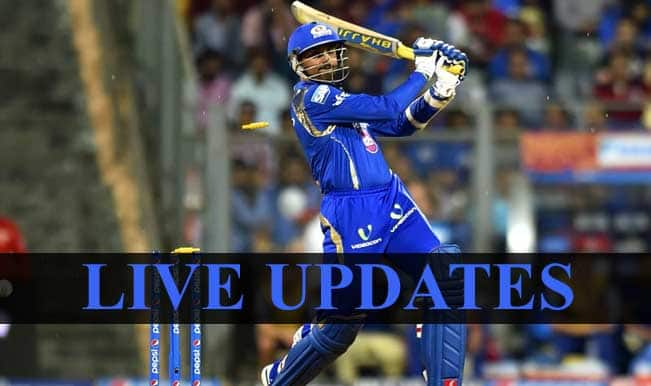 MI won by 5 runs | Live Cricket Score Updates Mumbai Indians vs Kolkata Knight Riders, IPL 2015