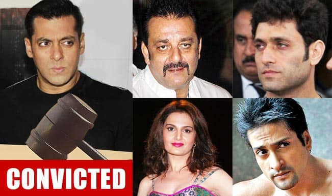 Salman Khan convicted in hit-and-run case: Top 4 Bollywood celebrities who were found guilty by Indian law!
