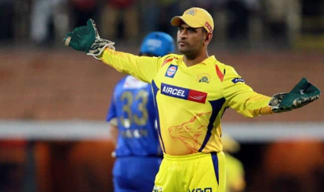 MS Dhoni fined for showing dissent on umpire's decision during CSK VS MI IPL 2015 Qualifier 1 match