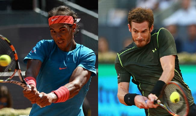 Rafael Nadal takes on Andy Murray in Madrid Masters 2015 final